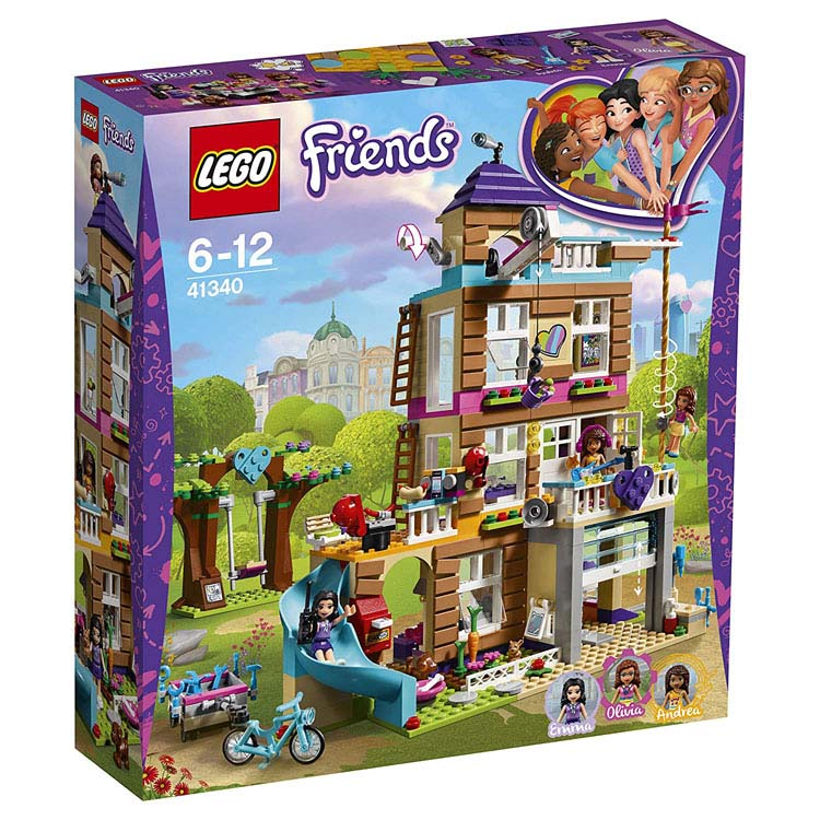 レゴ フレンズ フレンズのさくせんハウス 41340送料無料 おもちゃ 玩具 ブロック 女の子向け ミニチュア お友達 LEGO Friends ギフト プレゼント レゴジャパン 【TC】