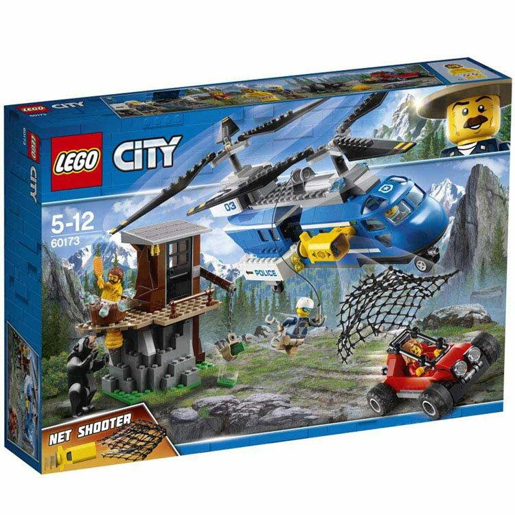 レゴ シティ 山の逮捕劇 60173送料無料 おもちゃ 玩具 ブロック 男の子向け ミニチュア 街 LEGO City ギフト プレゼント レゴジャパン 【TC】