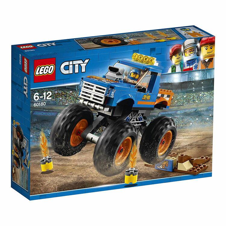 レゴ シティ モンスタートラック 60180おもちゃ 玩具 ブロック 男の子向け ミニチュア 街 LEGO City ギフト プレゼント レゴジャパン 【TC】