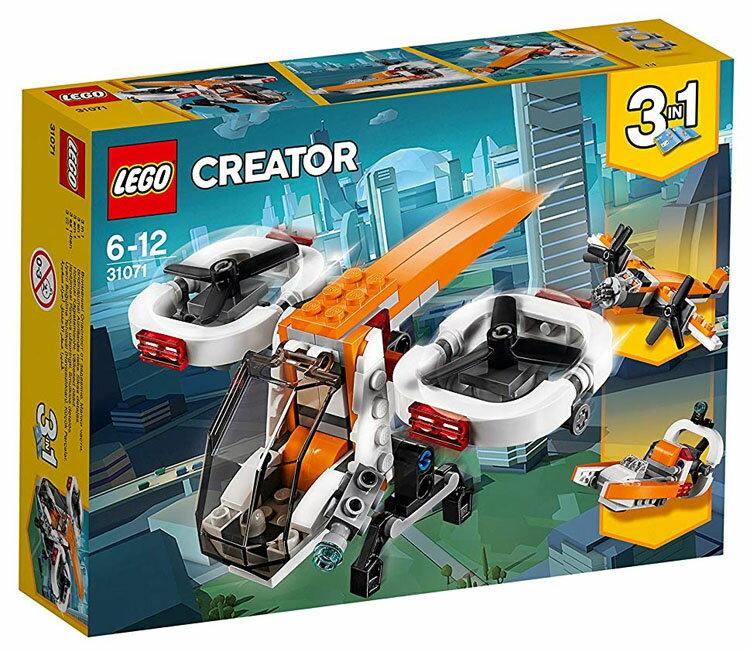 レゴ クリエイター ドローン 31071おもちゃ 玩具 ブロック 男の子向け 飛行機 乗り物 LEGO Creator ギフト プレゼント レゴジャパン 【TC】