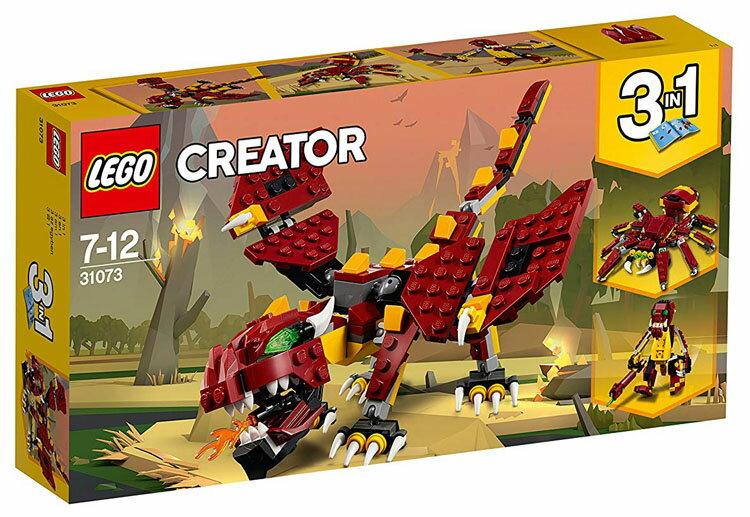 レゴ クリエイター 伝説の生き物 31073おもちゃ 玩具 ブロック 男の子向け 竜 乗り物 LEGO Creator ギフト プレゼント レゴジャパン 【TC】