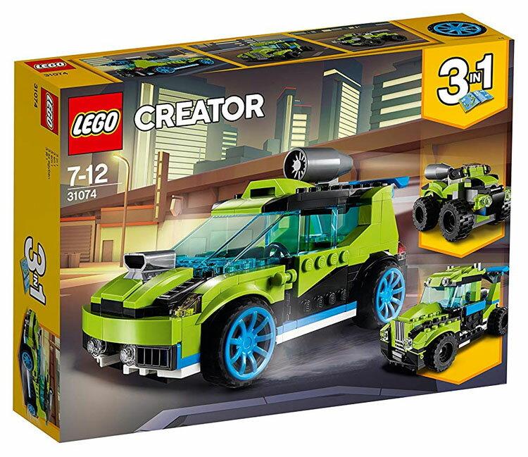 レゴ クリエイター ロケットラリーカー 31074おもちゃ 玩具 ブロック 男の子向け 竜 乗り物 LEGO Creator ギフト プレゼント レゴジャパン 【TC】