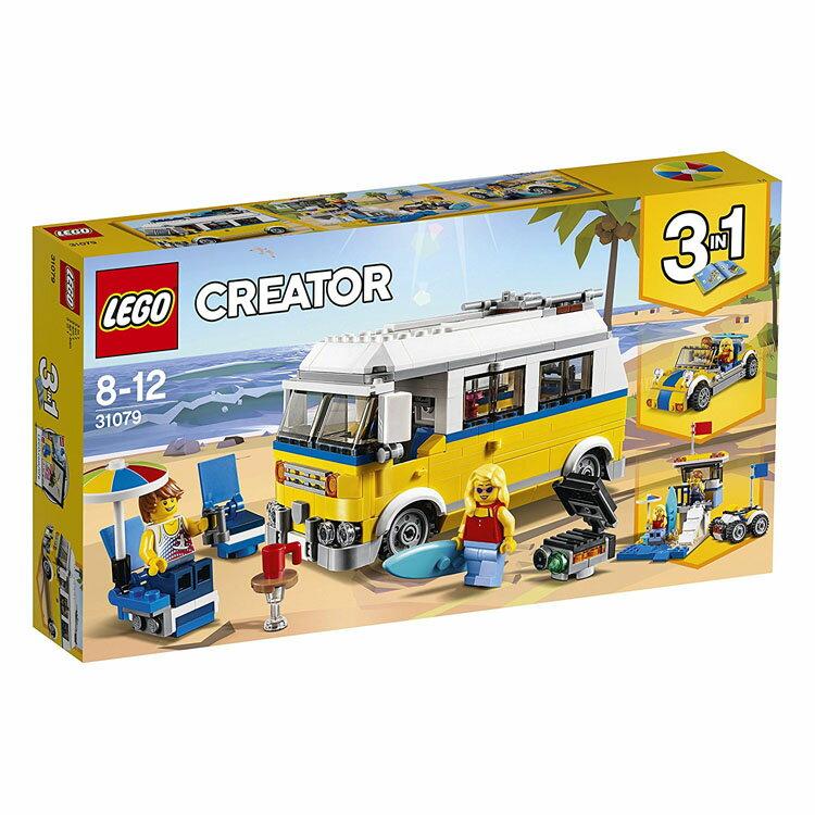 レゴ クリエイター サーファーのキャンプワゴン 31079おもちゃ 玩具 ブロック 男の子向け 竜 乗り物 LEGO Creator ギフト プレゼント レゴジャパン 【TC】