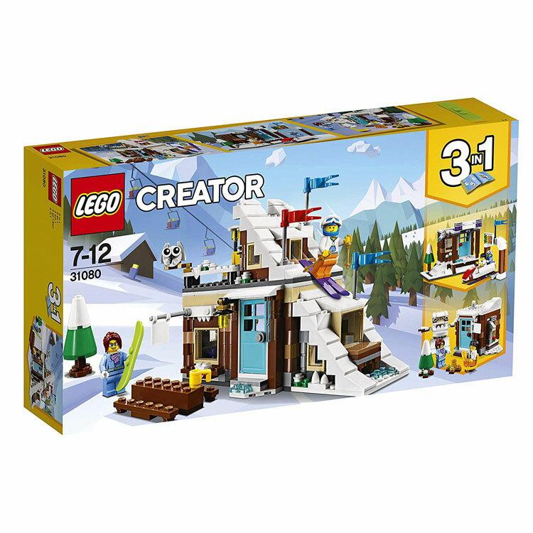 レゴ クリエイター ウィンターバケーション (モジュール式) 31080おもちゃ 玩具 ブロック 男の子向け お部屋 LEGO Creator ギフト プレゼント レゴジャパン 【TC】