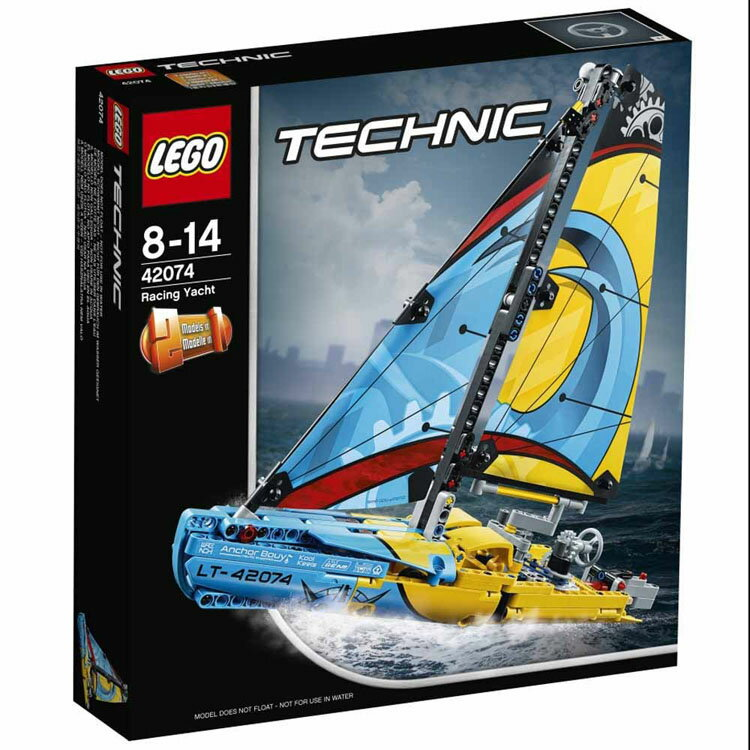 レゴ テクニック レーシングヨット 42074おもちゃ 玩具 ブロック 男の子向け 舟 乗り物 LEGO Technic ギフト プレゼント レゴジャパン 【TC】