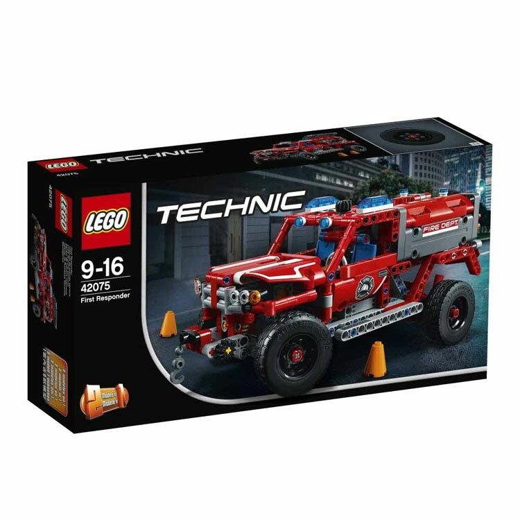 レゴ テクニック 緊急救助車 42075送料無料 おもちゃ 玩具 ブロック 男の子向け 車 乗り物 LEGO Technic ギフト プレゼント レゴジャパン 【TC】