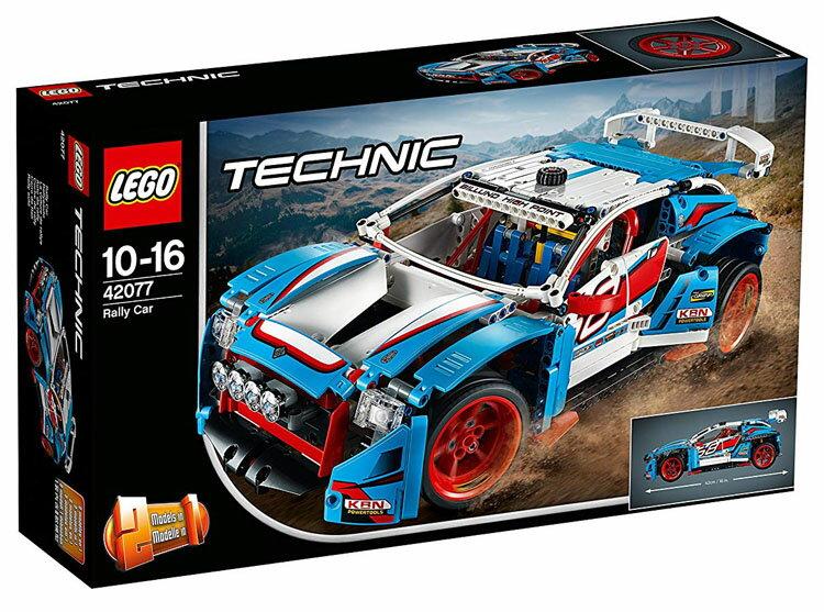 レゴ テクニック ラリーカー 42077送料無料 おもちゃ 玩具 ブロック 男の子向け 車 乗り物 LEGO Technic ギフト プレゼント レゴジャパン 【TC】