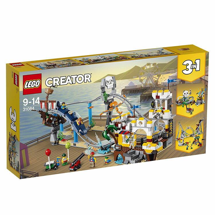 レゴ クリエイター 31084 ローラーコースター 送料無料 おもちゃ 玩具 ブロック 男の子向け LEGO パイレーツ 海賊 ギフト プレゼント レゴジャパン 【D】【楽ギフ_包装】