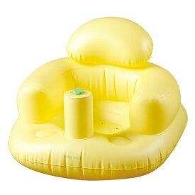 ふんわりバスチェア イエロー バスチェア ベビーチェア 椅子 赤ちゃんイス いす チェア お風呂 バス 赤ちゃん 永和 【D】