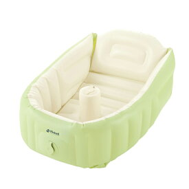 ベビーバス リッチェル ふかふかベビーバス プラス 送料無料 赤ちゃん ベビーバス お風呂 エアーベビーバス 空気を入れる 新生児 お風呂 膨らます【D】