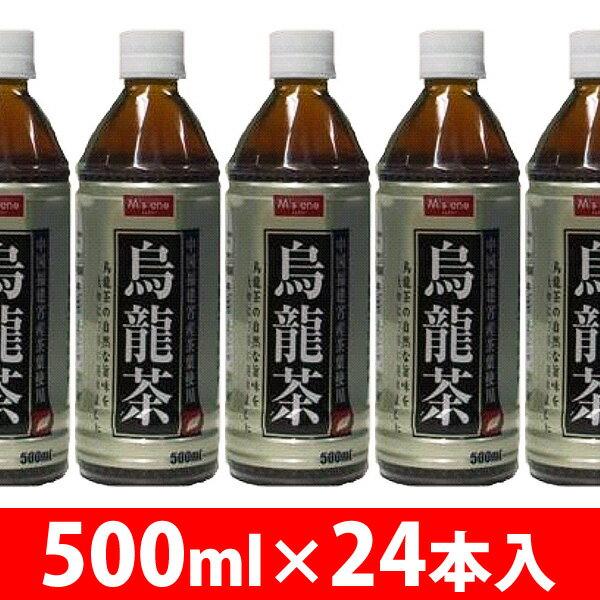 【M's one】烏龍茶500ml 24入り 【D】【AR】【RCP】