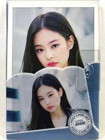 JENNIE ジェニー - BLACKPINK ブラックピンク グッズ / プラケース入り ポストカード 16枚セット - Post Card 16sheets (is included in a Plastic Case) [TradePlace K-POP 韓国製]