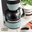 Toffy4カップコーヒーメーカー650ml4杯ドリップ式コーヒーメーカーバリスタコーヒーサーバーコーヒードリッパーカフェおしゃれコーヒー珈琲ホットコーヒー北欧テイストメッシュフィルターガラスポット保温キッチン家電インテリア雑貨白