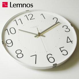 掛け時計 【時計フック付き】 タカタレムノス Lemnos Tom clock T1-0104 北欧 おしゃれ インテリア雑貨 アンティーク調 デザイン リビング 音がしない 連続秒針 ブランド レトロ 球面ガラス 大型 モダン ムーブメント オシャレ シンプル