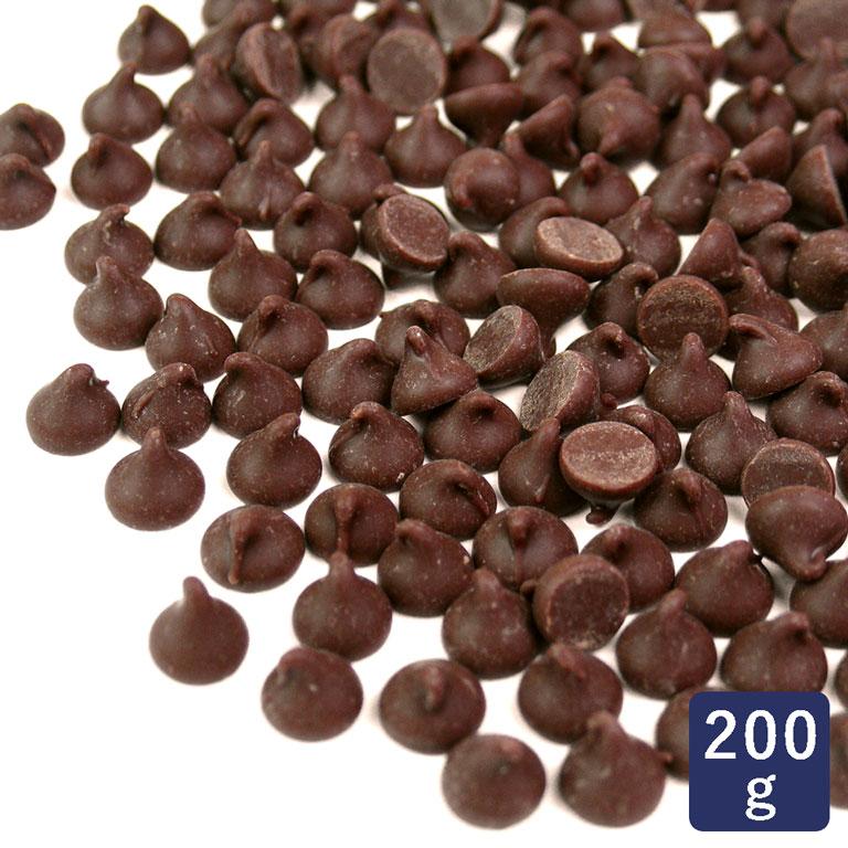 高級チョコレートチップ 「 スイート 」 200g_ < 菓子材料 パン材料 チョコチップ >