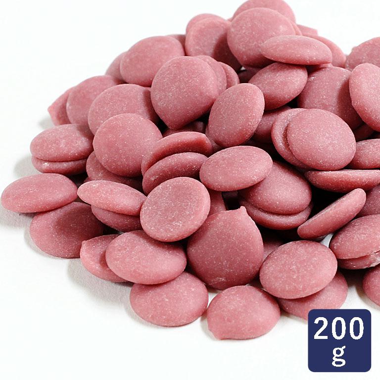 チョコレート カレボー ルビーチョコレート カカオ分32.5% 200g 製菓用チョコレート バレンタイン 手作り用_ <お菓子材料・パン材料>