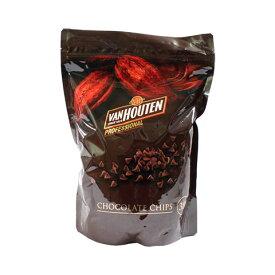 チョコレート チョコレートチップ バンホーテン 1.5kg_< 菓子材料 パン材料 チョコレート>おうち時間 パン作り お菓子作り 手作り パン材料 お菓子材料 ハロウィン