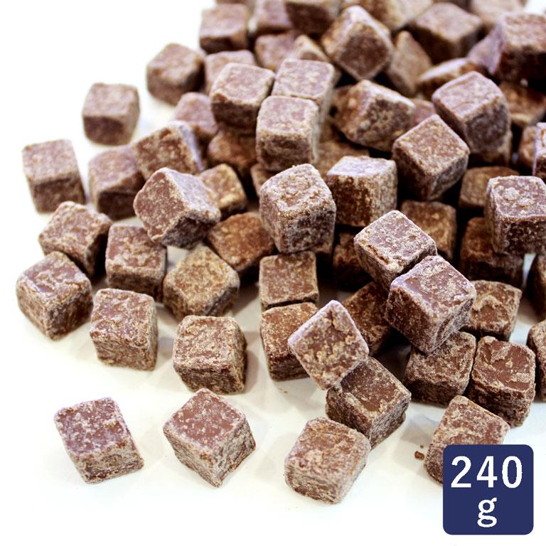キューブチョコレートM10T 240g 製菓用チョコレート < 菓子材料 パン材料 チョコレート>_ 手作り ダイスチョコ サイコロチョコ