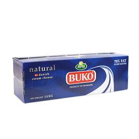 チーズ ブコクリームチーズ BUKO 1.8kg デンマーク産_
