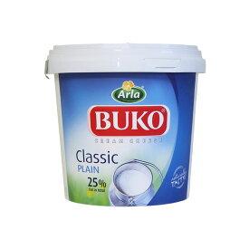 チーズ ブコクリームチーズ ソフトタイプ BUKO 1.5kg デンマーク産_おうち時間 パン作り お菓子作り 手作り パン材料 お菓子材料 クリスマス ポイント消化