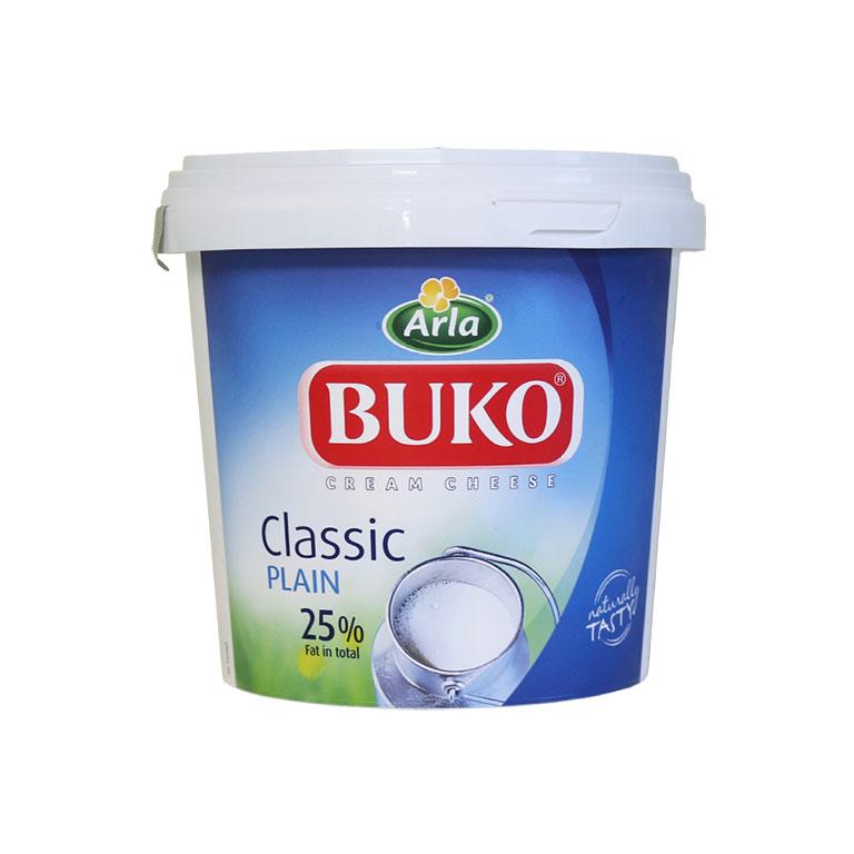 BUKO デンマーク産 ブコクリームチーズ ソフトタイプ 1.5kg チーズ クリームチーズ チーズケーキ_