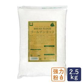 最強力粉 ゴールデンヨット パン用小麦粉 2.5kg_ ハロウィン