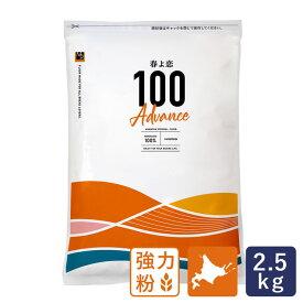 強力粉 春よ恋100Advance 北海道産パン用小麦粉 2.5kg 国産小麦粉 春よ恋100% ハロウィン
