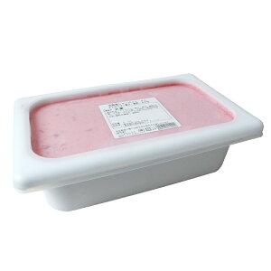 アイスクリーム 完熟苺シャーベット いちご果汁・果肉32% 明治 業務用 2000ml_