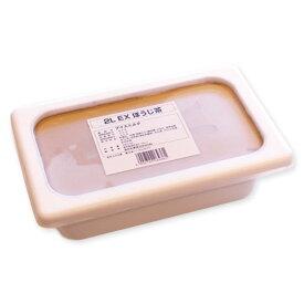 森永 アイスクリーム 2L EX ほうじ茶 2000ml 冷凍菓子 業務用_
