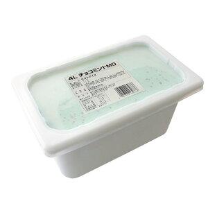 アイスクリーム 4L チョコミントH 森永 業務用 4000ml 冷凍菓子_