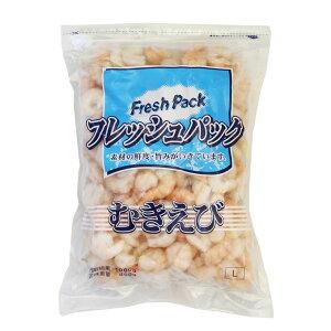 冷凍食品 むきえびIGF L 600g_ <デリカ・惣菜>