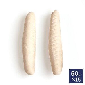冷凍パン生地 コッペパン成型品60 ISM(イズム) 60g×15_