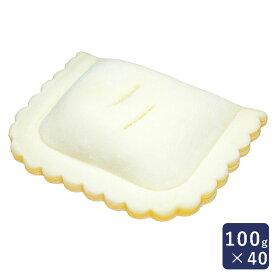冷凍パイ生地 フレンチアップルパイ ISM 業務用 1ケース 100gx40_