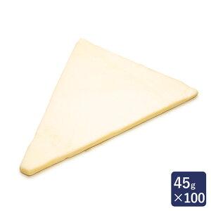 冷凍パン生地 発酵バタークロワッサン板 ISM 業務用 1ケース 45g×100_