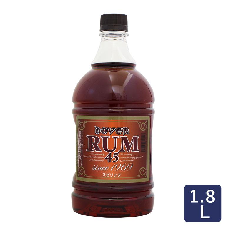 ドーバー ラム45°1.8L_Dover フルーツ漬 洋酒漬け お菓子用 ラム酒