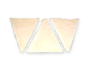 冷凍パン生地 業務用 ISM 発酵バタークロワッサン板 1ケース 45g×100 _