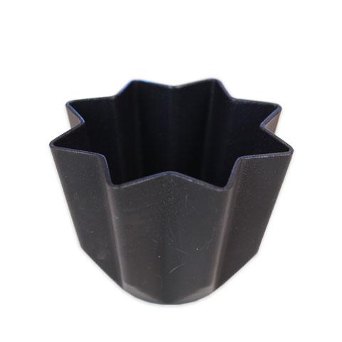 【型】SN パンドーロ(八星型) (小) 85×65 SN6805 フッ素樹脂加工_