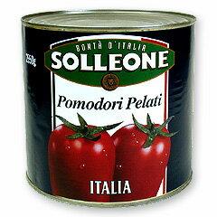 【業務用】ソルレオーネホールトマト1号缶<2550g>__