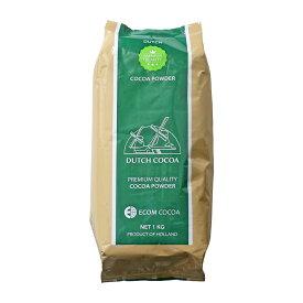 DUTCH COCOA ダッチココアパウダー ミッドレッドタイプ 1kg 純ココア カカオパウダー<お菓子材料・パン材料 ココア>_
