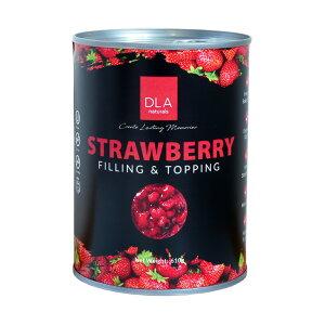 フルーツフィリング フルッタデコール ストロベリー DLAナチュラルズ 610g_  いちご 苺 果肉