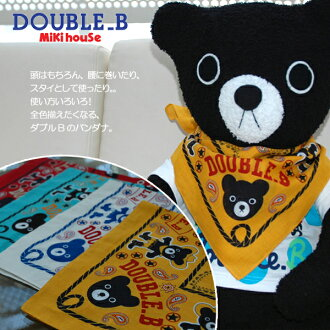 (Recommend! ) ★ Double B black bear Bandanas