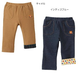 ☆ホットビスケッツ★ビーンズくん ストレッチニットデニムパンツ(80cm.90cm)