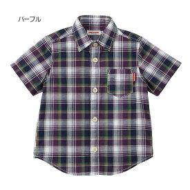 【30%OFF】チェックシャツ(80.90.100cm)ミキハウス mikihouse