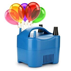 AGPTEK 【2送風口】 電子風船インフレータエアポンプ 空気入れ 送風機 2個同時急速送風可 電線コード内蔵 収納便利 クリスマスや会社/学校活動や誕生日パーティなど使える 大活躍 日本仕