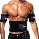 ダイエットベルト-- ODOLAND 「1ベルト+2シェイパー」腰用サポーター 調整可 滑り止めベルト 保温 発汗 体重減少 毒素排出 腰痛軽減 姿勢 ブラック