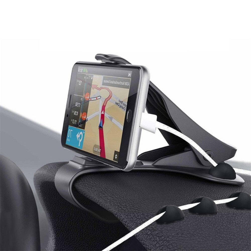 AGPTEK スマホ車載ホルダー カーマウント 安全運転 スマホスタンドiPhoneX iPhone8 iPhone 7 7 Plus 6S 6 5S 5C, Samsung Galaxy S7 S6 など対応 滑り止めマット付き 日本語説明書付き