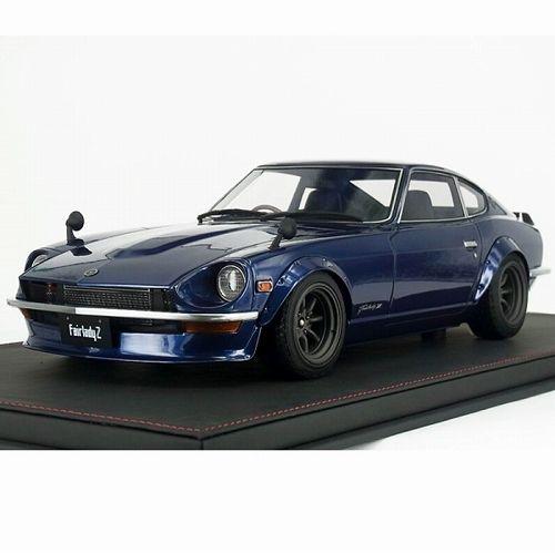【お取り寄せ品】【イグニッションモデル】Nissan Fairlady Z S30 Blue 1/12 IG492