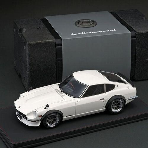 【お取り寄せ品】【イグニッションモデル】Nissan Fairlady Z S30 White 1/12 IG494
