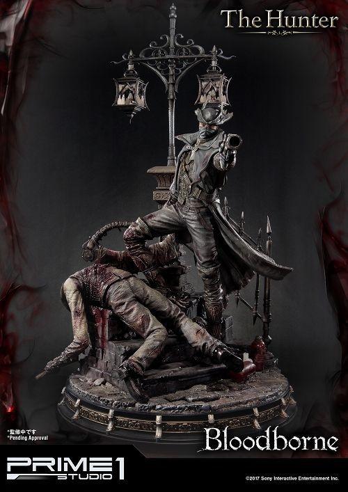 【予約商品】【プライム1スタジオ】 【送料無料】アルティメットプレミアムマスターライン/ Bloodborne ブラッドボーン: 狩人 ハンター 1/4 スタチュー UPMBB-02