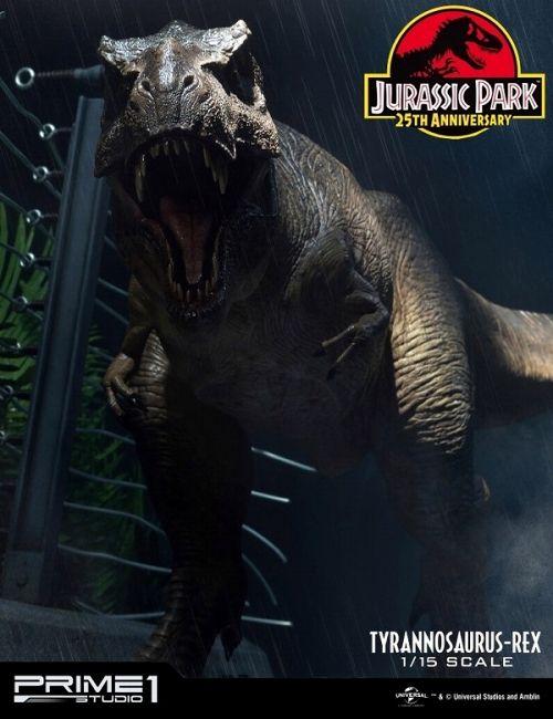 【予約商品】【プライム1スタジオ】 【送料無料】レガシーミュージアムコレクション/ ジュラシック・パーク: T-REX ティラノサウルス・レックス 1/15 スタチュー LMCJP-01